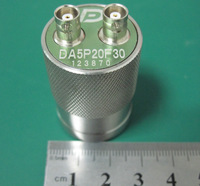 Guangzhou manufacturer Dual element piezoelectric ceramic ultrasonic transducer