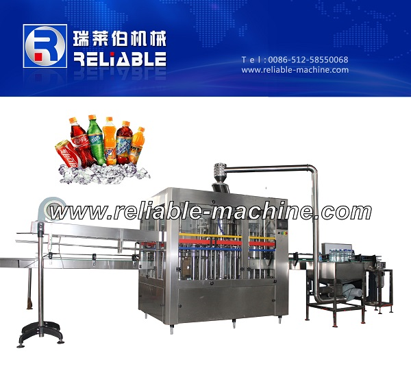 High Quality Unique Design Carbonated Beverage/Soda Water/Soft Drink Filling Machine/Plant