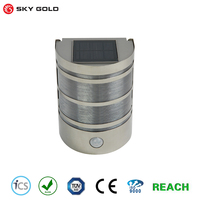 Solar Power Wall Mount 6 LED