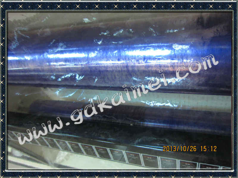 Chinese blue plastic packing film for mattress