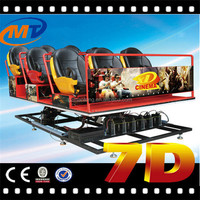 2014 New Technology Motional Movie incitant 7d cinema and berkline home theater seats