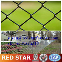 galvanized chain link fence gate / tennis court fence
