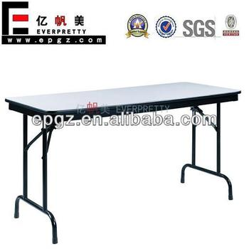 Plywood folding table for outdoor party restaurant for Table cuisine retractable
