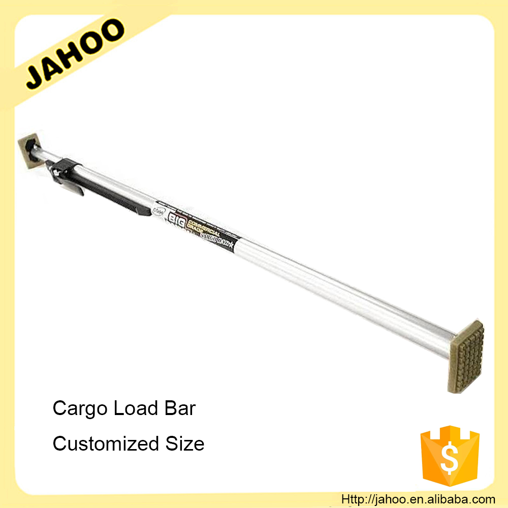 "Round Tube Load Bars W/ 2""X4"" Pads - 4 Pack Cargo Load Bars"