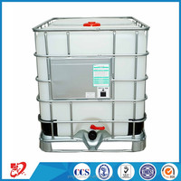 1000L hdpe plastic tank with stainless steel frame for factory price