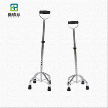 top selling products telescopic detachable 4 legs walking stick