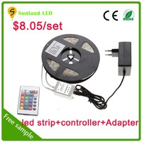 Clearance sale DC12V 30led per meter SMD5050 IP65 waterproof rigid led strip black light uv strip led