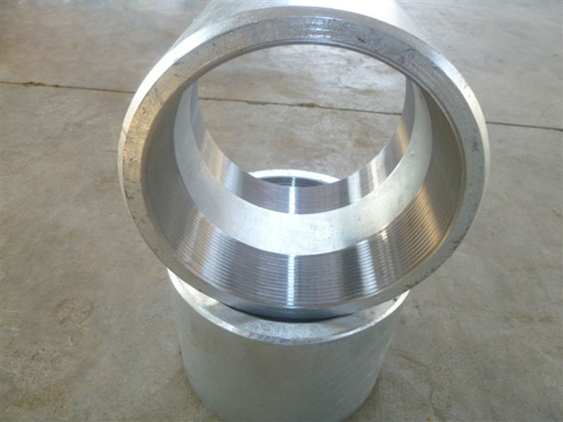 Carbon steel forged pipe fittings sw full coupling half