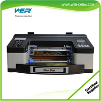 latest a4 a3 size digital hot foil stamping machine printer