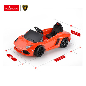 LAMBORGHINI authorize car RASTAR music RC ride on baby electric car