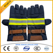 Firefighting Protection Safety Equipment of Fire Gloves