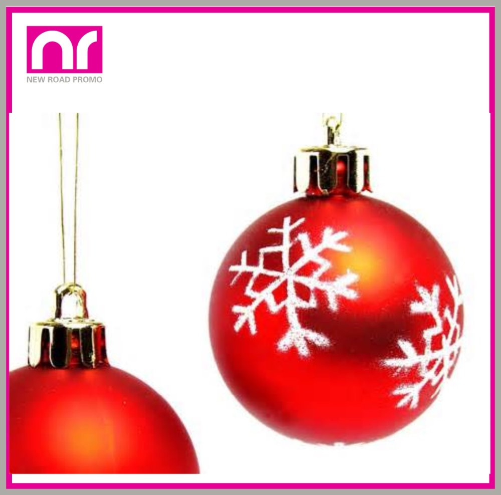 Wholesale Cheap ceramic plated christmas ball for Christmas Decoration