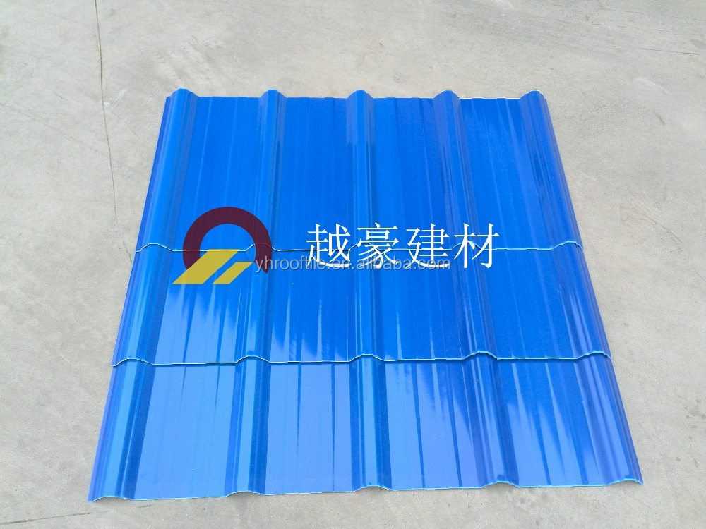 Best Selling Products Made In China PVC Plastic stone coated metal roofing tile