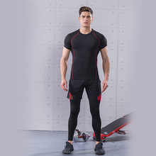 new products men sports wear seamless fitness leisure workout wear men's gym clothing