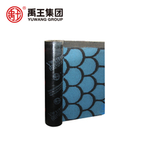 Durable stereoscopic modified bitumen roofing self adhesive roll materials