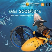 high quality electric water propellor/dual speed aqua scooter
