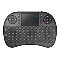 2.4Ghz Wireless Fly Air Mouse keyboard Built-in with High Sensitive Smart Touchpad wireless keyboard and mouse