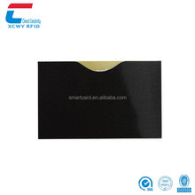 High Quality 135*92mm Blank Aluminum Foil Paper Anti Theft Rfid Blocking Sleeves for Passports