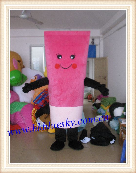 2014 facial cleanser mascot costume cosmetic bottle mascot costume for sale