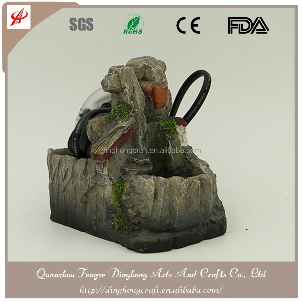 Mini Table Indoor Fountain Led Lighting Indoor Water Fountains Stone Water Fountain