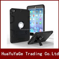 Robot Heavy Duty Kickstand Holder case cover for Apple ipad mini 1 2 3