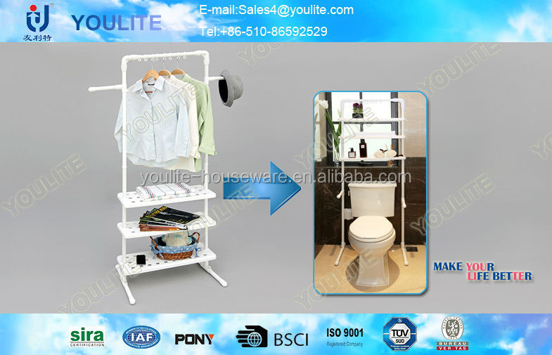 flexible delicate toilet paper holder with shelf