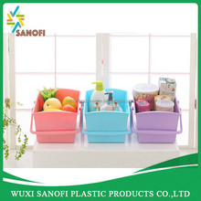 Top quality wholesale High quality handle plastic Laundry basket with competitive price