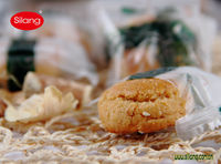 260g Almond Pastry Biscuits-Chinese Almond Cookies -Salty Garlic Flavor