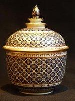 Benjarong Porcelain pottery
