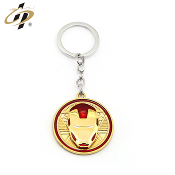 cheap customized sports logo The Avengers keychain/key rings