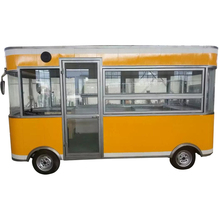 Mobile food trucks fast coffee serving cart enginee type