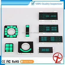 custom design led display for microwave oven custom 7 segment led display