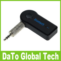 New Wireless Bluetooth Car Kit Audio Handsfree Music Receiver Transmitter Adapter A2DP With MIC