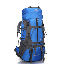 Modern Design Popular Custom Logo 80L Backpacking Emergency Survival Climbing Mountain Camping Travelling Backpack
