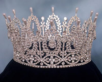 Fashion Pageant Crown miss world tiara full around Full Circle Crowns Bridal Tiara