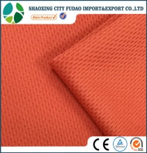 Double faced eyelet fabric knitting sports wear 100% polyester sports fabric