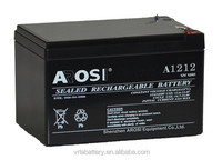 12v 12ah lead acid battery mainteance free batteries for electric bikes