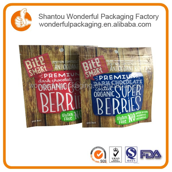 Custom printed snack food packaging bag snack foods
