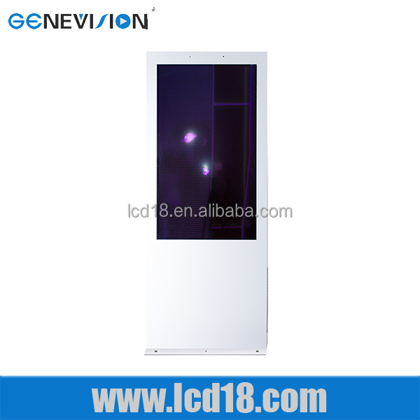 55 Outdoor Brightness Digital Signage Display Stands Ad Player