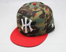 Desert Camo Embroidered Flex Fitted Elastic Cap