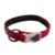 Pet safety warning reflective nylon LED buckle pet collar