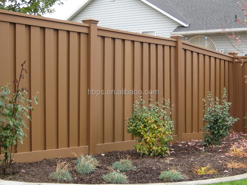 Outdoor wood plastic composite cheap price wpc decking fence