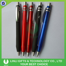 Custom Logo Printing Advertising Plastic Rubber Finished Pen