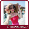 2014 new bandage strapless junior cocktail dresses gradient pink