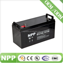 12v110ah battery deep cycle sealed lead acid rechargeable solar battery with high efficeincy