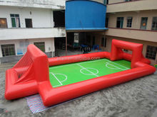 2014 Best Quality Kids' inflatable soccer goal football gate toy with CE