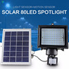 Solar Motion Sensor Light High Lumen