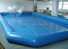 Hot selling portable rectangular inflatable pool for swimming