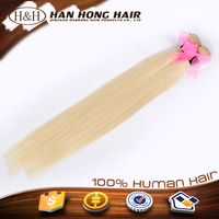 Wholesale factory direct european hair wholesale,blonde straight hair extension,613 color weave human hair