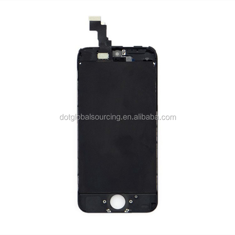 LCD Screen Assembly for Apple iPhone 5S Black Original Quality